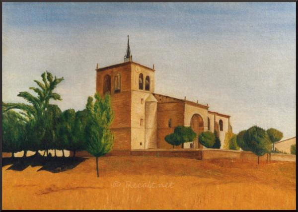 santa maria ribarredonda - eglise - iglesia asuncion - espana - espagne