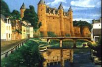 Château de Rohan à Josselin