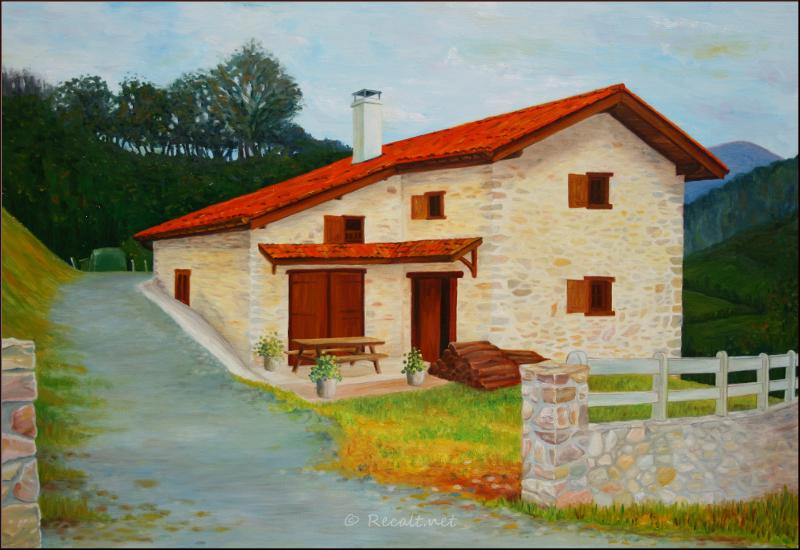 maison basque - euskal etxea