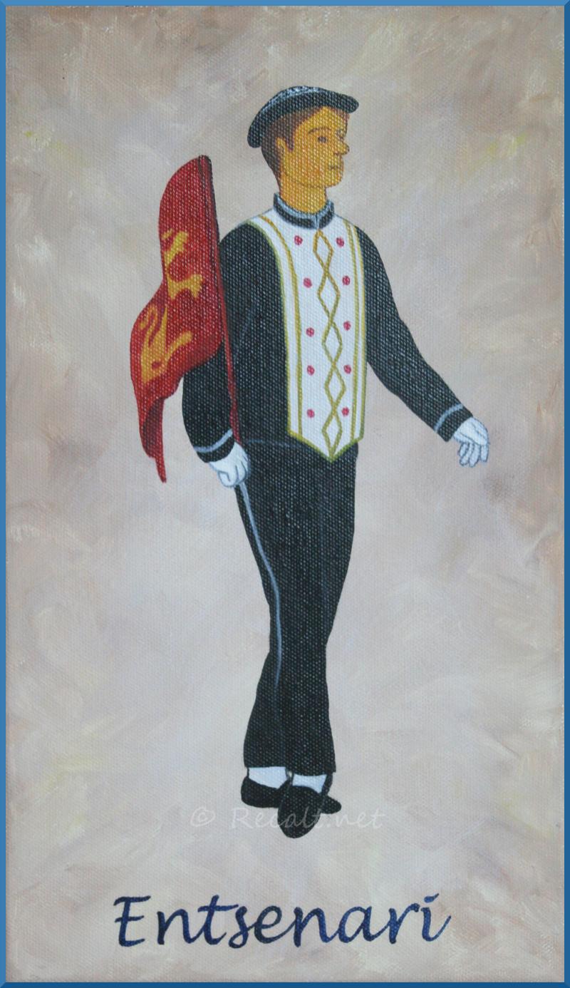 entsenari - danseur souletin - xiberoko dantzaria - maskarada