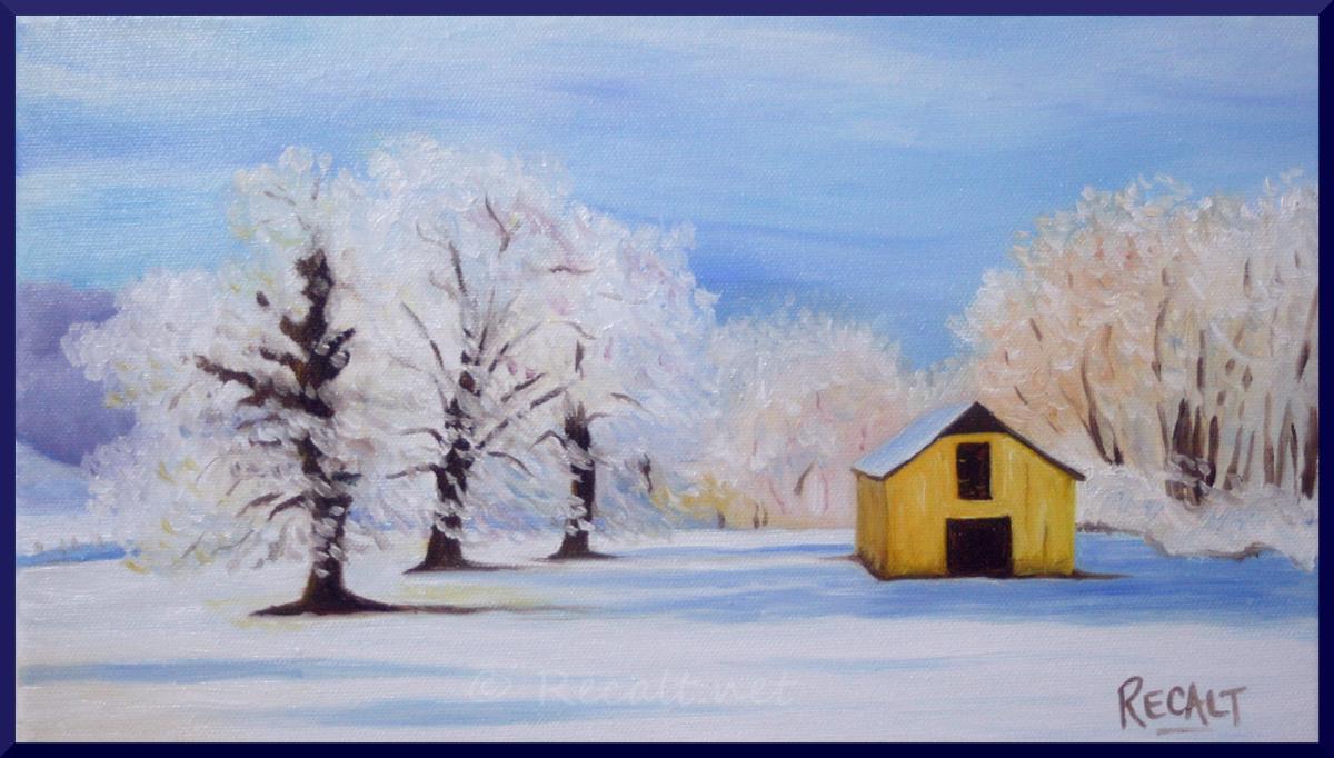 jour de neige - neige pays-basque - bergerie sous neige