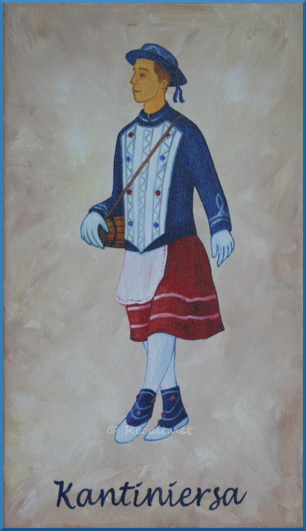 Kantiniersa danseur souletin - xiberoko dantzaria
