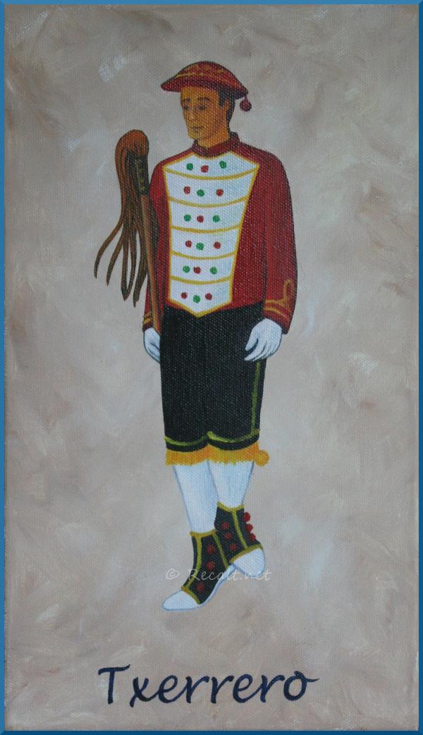 Txerrero - danseur souletin - xiberoko dantzaria