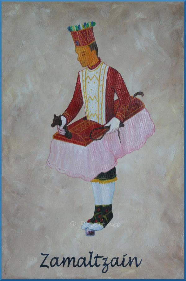 zamaltzain - zamaltzaïn - danseur souletin - xiberoko dantzaria