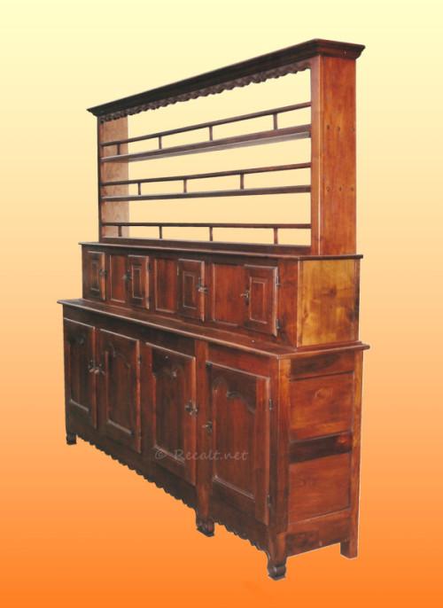 vaisselier ancien recalt jean marc peinture. Black Bedroom Furniture Sets. Home Design Ideas
