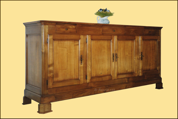 enfilade - buffet traditionnel 4 portes - pays-basque - mueble 4 puertas - furniture - basque country - euskal-herria