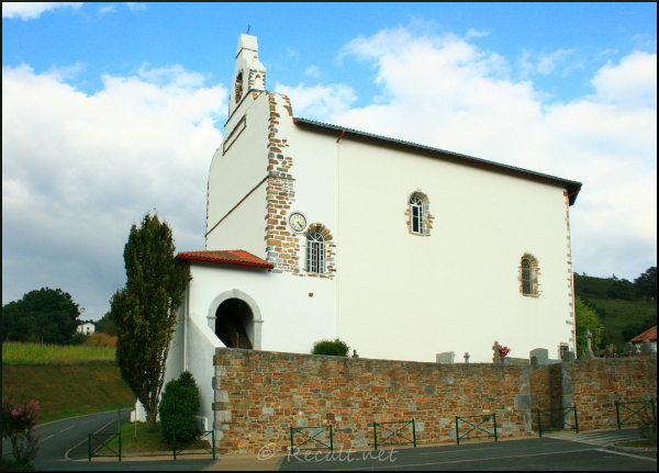 Isturitzeko Eliza - Eglise d'Isturitz