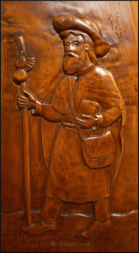 ambon - pelerin de saint-Jacques - eglise saint-michel ordiarp - église saint-michel ordiarp