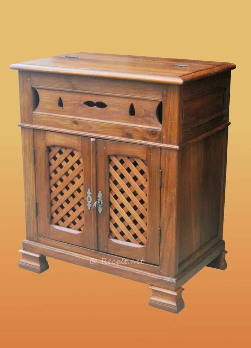 Petit vaisselier mobilier basque