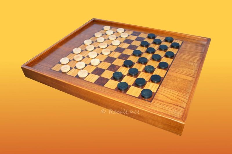 damier- echiquier - jeu plateau