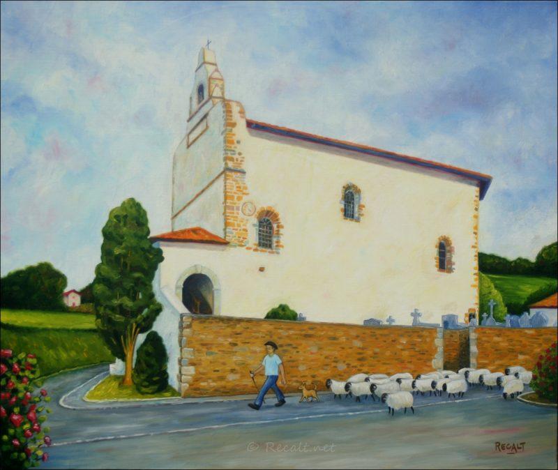isturitz - église - basse-navarre
